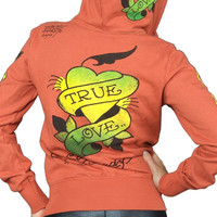 Ed Hardy True Love Zip Up