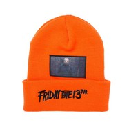 The Hundreds x Friday the 13th Patch Beanie - Orange