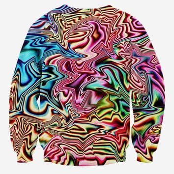 New! 3d sweatshirts Men/women Psychedelic glasses cat print fashion creative animal Hoodies long sle