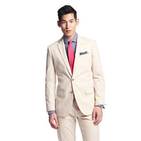 Stone Ludlow suit jacket with center vent in Italian chino - Ludlow sportcoats - Men's sportcoats & vests - J.Crew