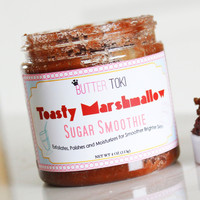 Toasted Marshmallow Scented Sugar Smoothie Body Scrub 4oz