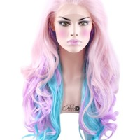 Birthday Cake Lace Front Wig - Powder Room D