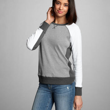 Women's Legend Wash Sweatshirt - Colorblock | Eddie Bauer