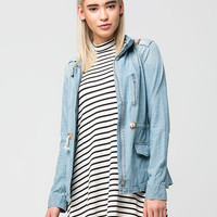FULL TILT Denim Womens Anorak Jacket | Jackets