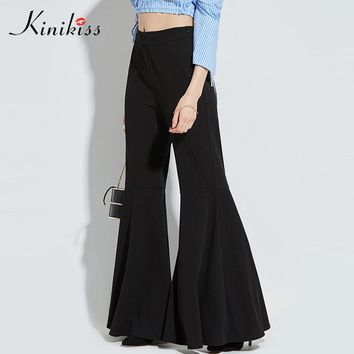 *Online Exclusive* Bell Bottom High Waisted Pants