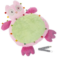 Mary Meyer 39307 Ooodles Owl Taggies Baby Mat with Pacifier Clip