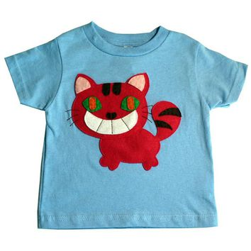 The Cheshire Cat - Alice's Adventure in Wonderland - Kids T-shirt