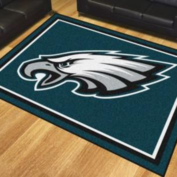 Philadelphia Eagles 8x10 Rug