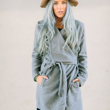 Cozy Wrapped Coat