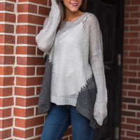 Stand By Me Sweater, Gray