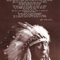 Chief White Cloud Native American Religion Poster 24x36