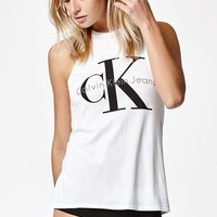 Calvin Klein Logo Muscle Tank Top at PacSun.com