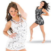 Stars Sequin Tunic Top/Dress : 0127