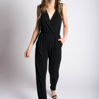 Tapered-Leg Jumpsuit