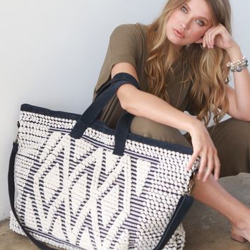 Desert Diamonds Boho Weekender Tote Bag