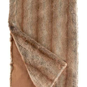 Coyote *Limited Edition* Faux Fur Throw Blanket by Fabulous Furs
