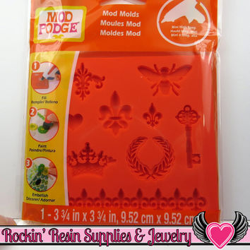 Mod Podge Mod Melts  ROYAL ICONs SILICONE MOLD