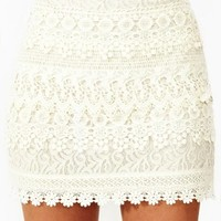 Wander Crochet Skirt
