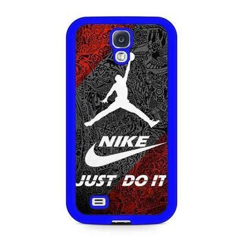CREYUG7 Nike Air Jordan Samsung Galaxy Case Available For Galaxy S4 Case Galaxy S5 Case Galaxy