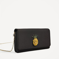 MULTI - FUNCTION MINI CROSSBODY BAG WITH PINEAPPLE DETAIL-NEW IN-WOMAN | ZARA United States