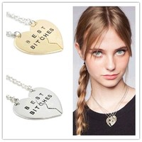 Free Shipping Best Friend Set Necklace--YX-XL-008