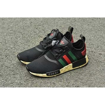 GUCCI Adidas NMD Fashion Women/Men Casual Running Sport Shoes (Limited edition)