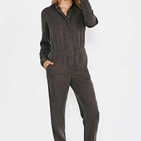 BDG Slouchy Metro Jumpsuit- Olive