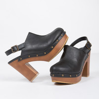 Studded Mule Clogs - 7