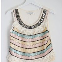 SHERBET SEQUIN TOP