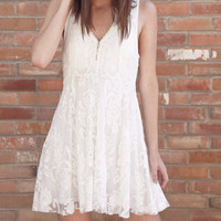 Free People Reign Over Me Embroidered Dress OB424572