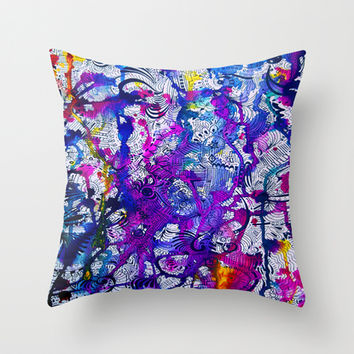 Love Within (color splash) Throw Pillow by DuckyB (Brandi)