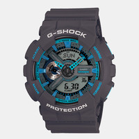Casio G-Shock Ga 110ts 8a2er Watch - Grey/blue at Urban Industry