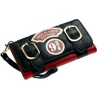 Harry Potter Hogwarts Express 9 3/4 Double Buckle Flap Wallet DFT-6003