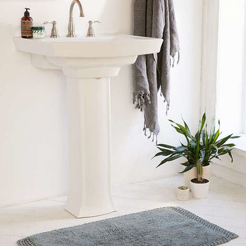 Netted Solid Bath Mat - Urban Outfitters