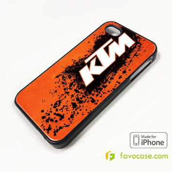 KTM 2 Motorcycle iPhone 4/4S 5/5S 5C 6 6 Plus Case Cover
