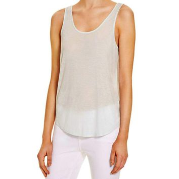 Rag & Bone/JEAN Canyon White Tank Top
