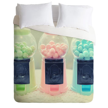Lisa Argyropoulos Bubble Gum Duvet Cover
