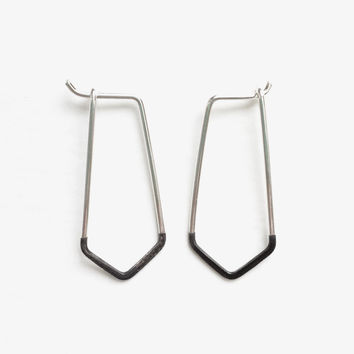 Sterling Point Earrings