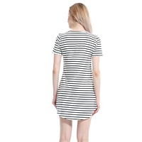 Striped Casual Sexy Summer Dress