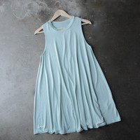 BSIC - sleeveless swing dress - mint