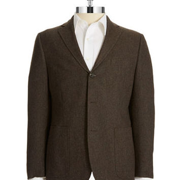 Black Brown 1826 Tweed Jacket