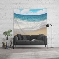 beach vibes Wall Tapestry by sylviacookphotography