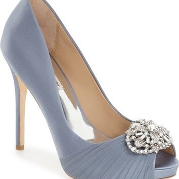 Badgley Mischka 'Desi' Peep Toe Platform Pump (Women) | Nordstrom
