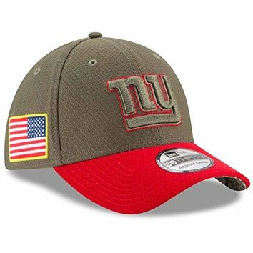 "New York Giants New Era NFL 39THIRTY 2017 Sideline ""Salute to Service"" Hat"