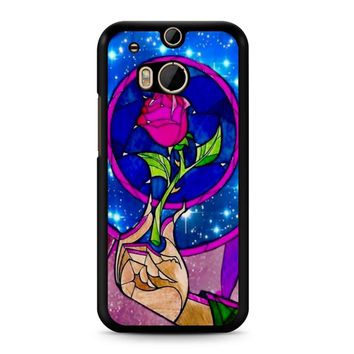 Beauty And The Beast Rose HTC M8 Case