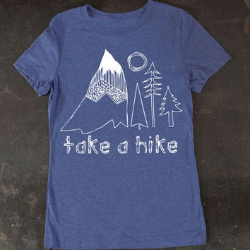 Women's Take A Hike Tee by TrulySanctuary T-Shirt Shirt Tshirt