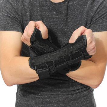 New Carpal Tunnel Medical Wrist Support Brace Support Pads Sprain Forearm Splint Band Strap Protector Safe