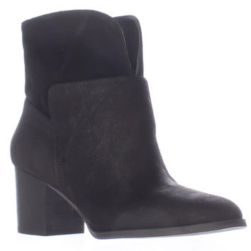 Nine West Dale Pull On Ankle Boots, Black/Black, 8 US