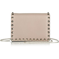 Valentino - The Rockstud leather shoulder bag