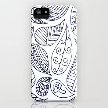Thought Bubbles Pt. 2 iPhone & iPod Case by Molly Jane Kickham
